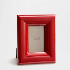RED LACQUERED FRAME - Frames - Decoration | Zara Home Romania