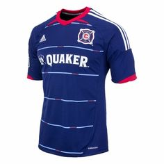 adidas Chicago Fire 2013 Away Soccer Jersey