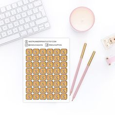 Hope Tuesday treats you right and you have your work mode on! ✌️ Do you use Etsy icons in your planning, even though you are not a seller? A little reminder, that Etsy's birthday sale event is happening now - check out my shop. Link in the bio! Erin Condren Life Planner, Weekly Planner, Mini Hands, Travelers Notebook, Happy Planner, Planner Stickers, How To Draw Hands, Icons, Kit