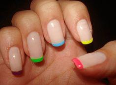 Rainbow tips