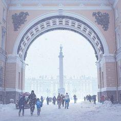 Арка Геншьаба, С.-Петербург, / St. Petersburg, Russia