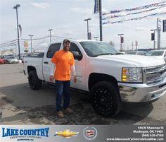 #HappyBirthday to Lawanda Cannon from Aaron Shieldnight  at Lake Country Chevrolet Cadillac!