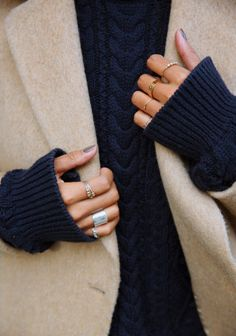 Winter outfit detail