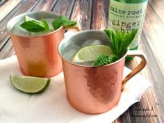Gin Gin Mule Simple Gin Drinks, Moscow Mule Mugs, Easy Meals, Cocktails, Tableware, How To Make, Recipes, Coffee, Craft Cocktails