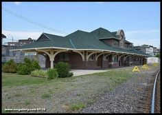 Ontario Northland's majestic Cobalt station, now under private ownership, still maintains that pristine look that has been documented hundreds of times in newspapers, history books and folklore since the 1905 silver rush. This photo was captured July 23, 2016.