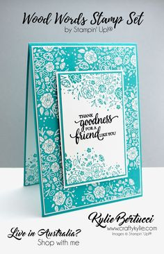 Friendship greeting card  double pocket greeting card