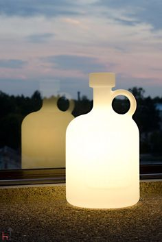 Grab the Bottle of Light by its handle and carry it wherever you need light.