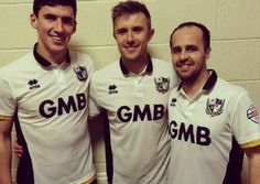 Port Vale FC 2014/15 Errea Home Kit