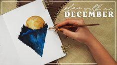Plan With Me December 2020 | Bullet Journal Set Up - YouTube