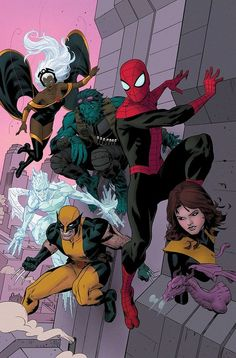 Spider-Man and The X-Men •Paolo Rivera