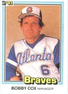 1981 Donruss # 426 Bobby Cox Atlanta Braves Baseball Card by Donruss. $3.88. Baseball