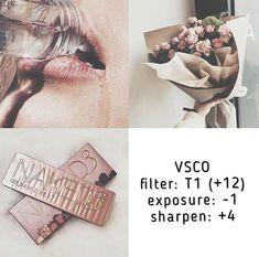 VSCO filter.