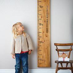 règle géante pour se mesurer <3