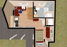 Tiny House Floor Plans | Small House Floor Plans | Cozy Home Plans