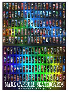 Mark Carroll hand painted decks cce3ae62329