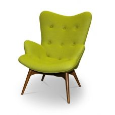 Featherston Contour Lounge Chair Green Replica... seriously obsessed with these chairs!