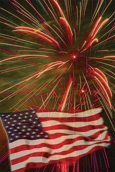 Fireworks that light up the sky and boom like thundering cannons...the perfect end to a perfect day!