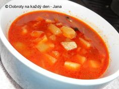 Cheeseburger Chowder, Cantaloupe, Pizza, Soup, Fruit, Red Peppers, Soups