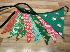 Christmas bunting from Nanny Buntings on Facebook Christmas Bunting, Buntings, Facebook, Bunting Garland, Christmas Swags