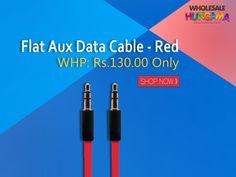 eGizmos Flat Aux Best Performance Data Cable at Just - 130Rs. #trendy #datacable #dealoftheday