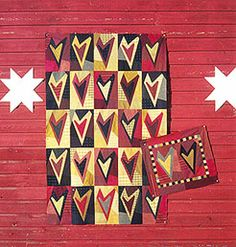 Buggy Barn Heart Quilt - for you mom. You should make this