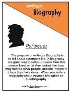 Writing A Biography Worksheets To Get Started  Homeschool Ideas