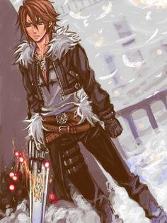 Squall - Final Fantasy VIII