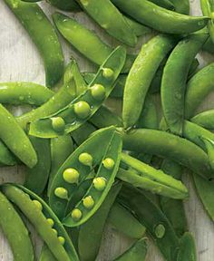 Sugar Snap peas.
