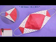 Sewing Basics, Sewing Hacks, Sewing Tutorials, Easy Face Masks, Diy Face Mask, Smocking Patterns, Sewing Patterns, Sewing Machine Tension, Diy Keychain