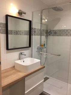 Bathroom renovations 854980310481763829 - Carrelage sol et mur blanc et gris effet ciment Gatsby x cm