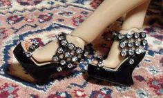 Fashion Doll Shoes: Wedges tutorial