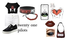 """""""twenty on pilots"""" by inspiredbyart345 ❤ liked on Polyvore featuring Frame Denim, Puma and Lime Crime"""