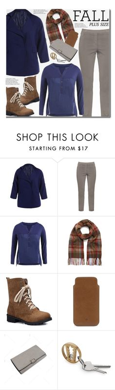 """""""Fall"""" by beebeely-look ❤ liked on Polyvore featuring KJ Brand, Mulberry, casual, casualoutfit, plussize, fallfashion and twinkledeals"""