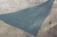 Modèle de châle offert n°9 - Soie et laine