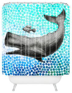 Garima Dhawan New Friends 3 Shower Curtain - contemporary - shower curtains - by DENY Designs