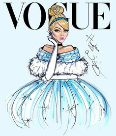 Disney Princess VOGUE Covers FB. : Best of Disney Art By Heyden Williams Illustrations