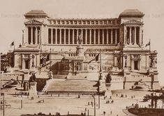 Foto storiche di Roma - Vittoriano Anno: 1911 Big Ben, Building, Travel, Viajes, Buildings, Destinations, Traveling, Trips, Construction