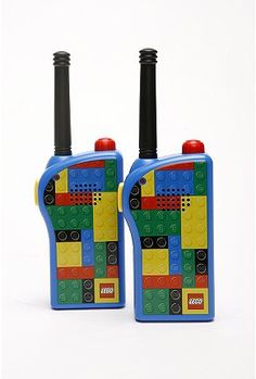 lego walkie-talkies www.urbanoutfitters.com #toys #kids