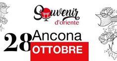 Ultimi posti per i workshop gratuiti di sabato 28 ottobre!!! Scopri tutte le attività a ingresso libero e riserva il tuo posto per le attività a numero chiuso su:http://bit.ly/Souvenir_doriente_Ancona