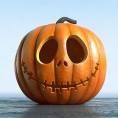 Love a Halloween pumpkin but short of ideas? Here are 24 cute and scary pumpkin carving ideas to try this Halloween. Halloween Pumpkin Carving Stencils, Halloween Pumpkin Designs, Amazing Pumpkin Carving, Scary Pumpkin, Fall Halloween, Halloween Decorations, Jack Skellington Pumpkin Carving, Pumpkin Pumpkin, Halloween Tattoo