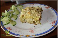 überbackener Gemüse Nudel Auflauf / au gratin vegetable pasta baked in a casserole