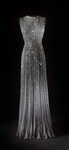 Beautiful, Translucent, rhinestoned dress