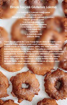 Elmalı Tarçınlı Glutensiz Lokma
