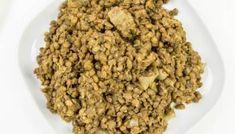 Zielona pasta do chleba czyli nowy pomysł na soczewicę ⋆ AgaMaSmaka - żyj i jedz zdrowo! Dog Food Recipes, Almond, Diet, Dog Recipes, Almond Joy, Almonds
