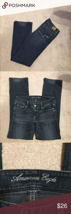 """American Eagle Slim boot. Size 8. Inseam 30"""".  (182) American Eagle Outfitters Jeans Boot Cut"""