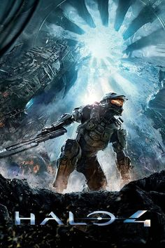 Halo 4 (Xbox - - the master chief returns to battle an ancient evil bent on vengeance and annihilation. Shipwrecked on a mysterious world faced with new enemies and deadly technology the universe will Halo 3, New Halo, Halo Game, Trip Hop, Blade Runner, Halo 4 Xbox 360, Master Chief, Science Fiction, Splinter Cell