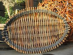 Tension tray - French Style Wicker weaving