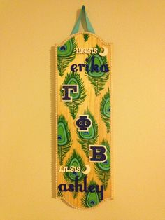 Big and little paddle! #handpainted sorority crafts