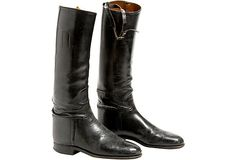 1920s English riding boots. One King's Lane.