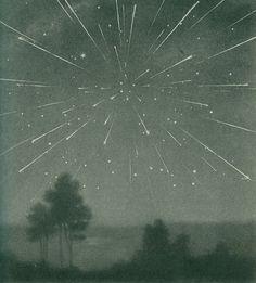 Pluie de météorites 1933